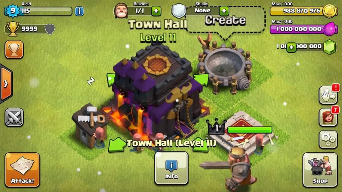 clash of clans easy hack
